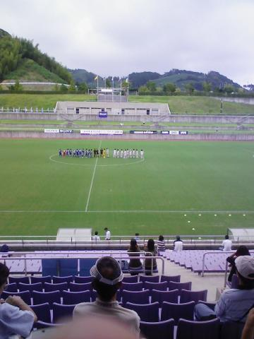 4-1で札幌ユースの勝利
