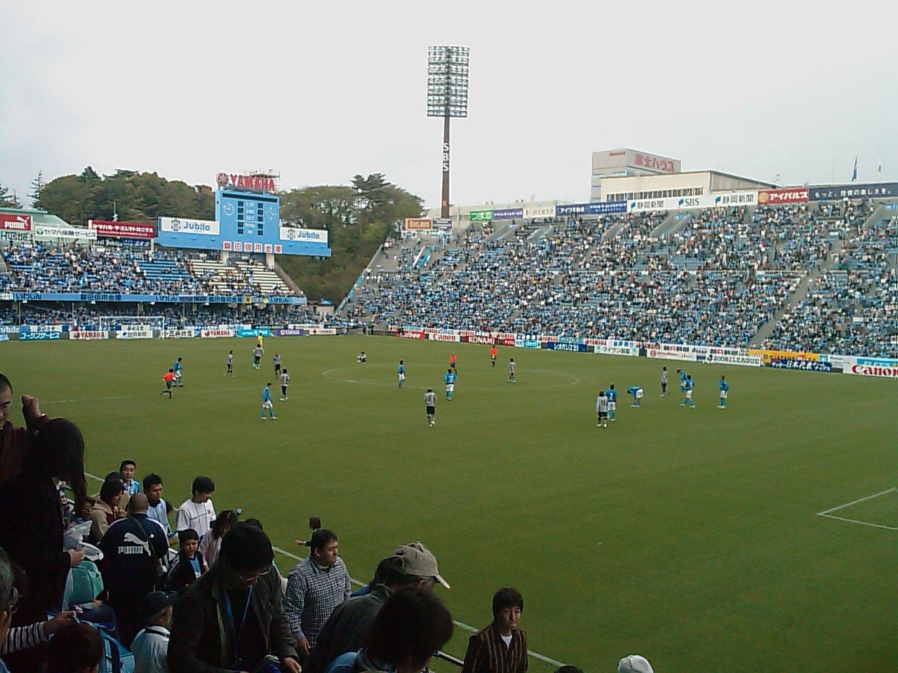 試合終了1-1